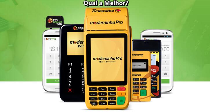37cfe6282 Máquinas de Cartões PagSeguro - Qual Melhor Modelo? - Compara Máquinas